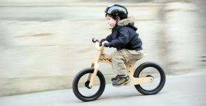 Aprender a andar en bicicleta sin pedales