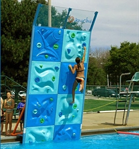Aquaclimb un roc dromo en la piscina gu as pr cticas com for Piscina desmontable 4x2