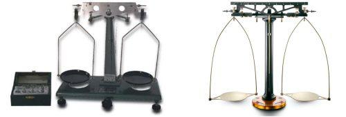 Balanza de cruz balanza clsica de dos platillos  Guas