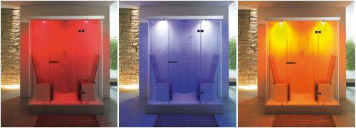 Cabina de ducha con cromoterapia gu as pr cticas com - Cabinas de ducha con sauna ...