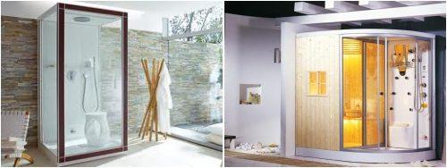 Cabina de ducha con sauna de vapor gu as pr cticas com - Cabinas de duchas de bano ...