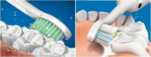 Cepillo de dientes eléctrico o manual