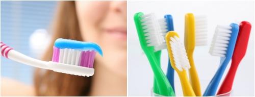 Cepillos de dientes manuales
