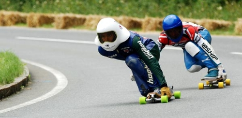 Deportes de inercia - Gravity sports