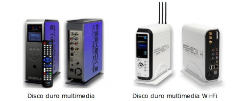 Disco duro multimedia