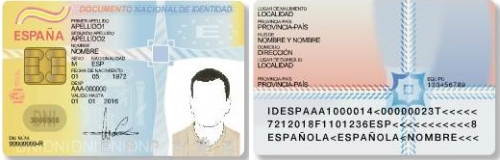 Documento de identidad electronico