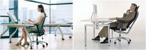 Ergonomia en las sillas de oficina