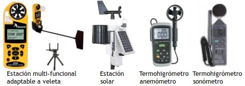 Estaciones meteorológicas portátiles
