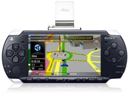 Go!Explore, GPS para la PSP