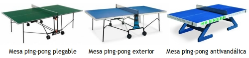 Guia de compra mesas de ping-pong