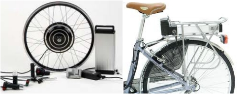 Kits de conversion para bicicletas electricas