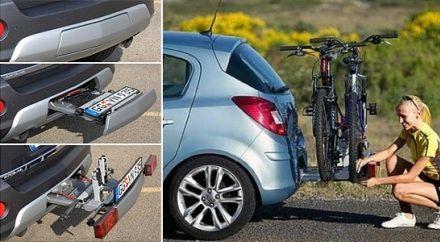 Llevar la bici Opel Corsa