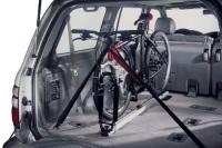 Llevar la bici maletero con portabicis