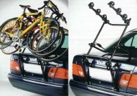 Llevar la bici porton trasero