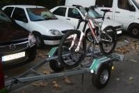 Llevar la bici remolque