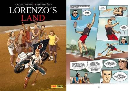 Lorenzo's Land - comic