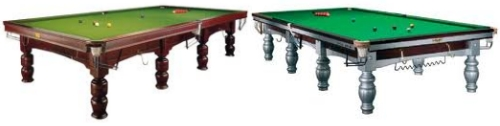 Mesas de billar ingles (snooker)