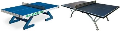 Mesas de ping-pong antivandálicas