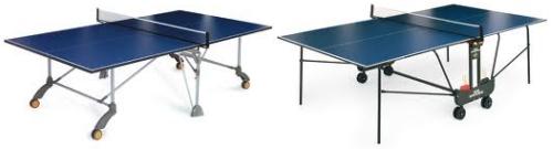 Mesas de ping-pong plegables