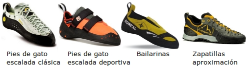 Zapatillas de escalada - Pies de gato