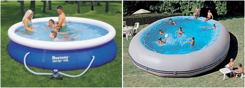 Piscinas hinchables gu as pr cticas com for Piscinas desmontables hinchables