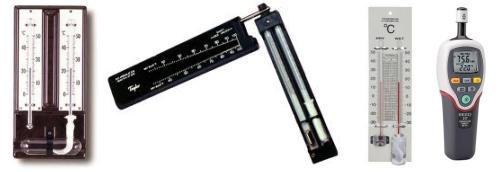 Psicrómetros