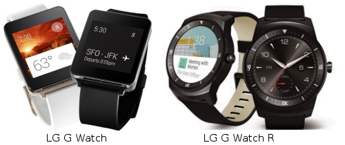 Reloj inteligente LG G Watch