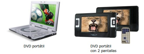 Reproductor DVD portatil