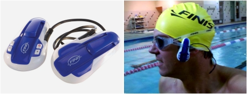 Reproductor MP3 acuatico sin auriculares Finis SwiMP3