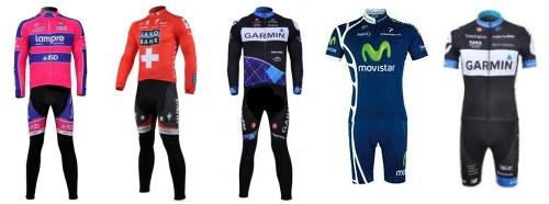Ropa de ciclismo de equipos profesionales gu as for Equipos de ciclismo
