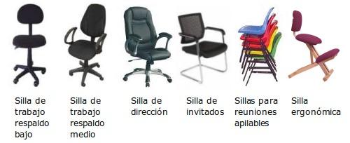 Sillas de oficina gu as pr cticas com for La oficina caracteristicas
