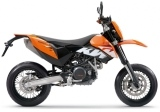 Supermotard KTM Duke 620