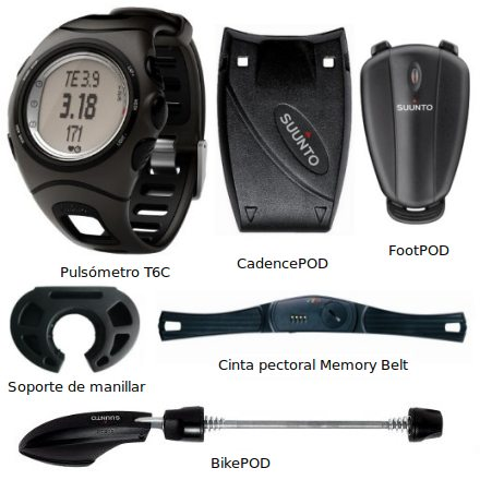 Suunto T6C Triathlon Pack