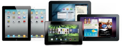 Tamanos de pantalla en Tablet PC