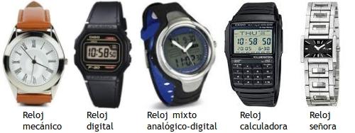 Un reloj novedoso y luminoso - Tipos de relojes ...