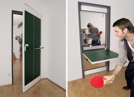 Tobias Franzel ping-pong door