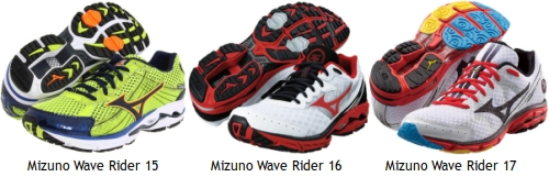 Zapatillas de running Mizuno Wave Rider