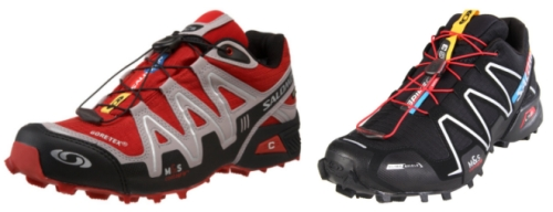 Zapatillas Salomon con tankas